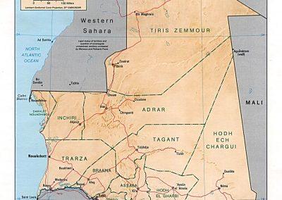 BDR-CH19-Mauritania Map