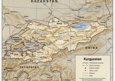 BDR-CH23-Kyrgyzstan_1996_CIA_map
